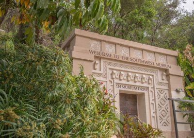 Southwest Museum Entrance