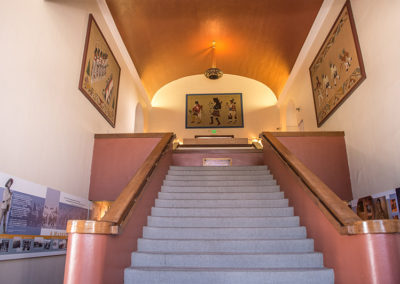 Southwest Museum Stairway